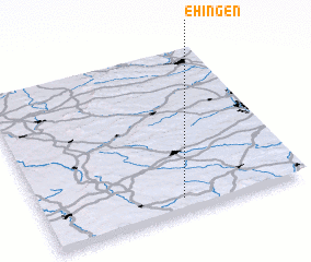 3d view of Ehingen
