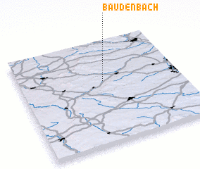 3d view of Baudenbach