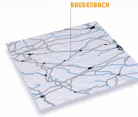 3d view of Baudenbach