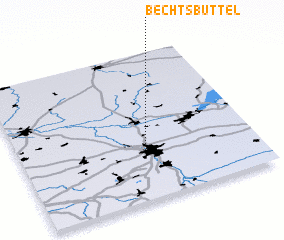 3d view of Bechtsbüttel