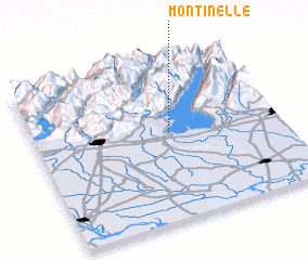 3d view of Montinelle