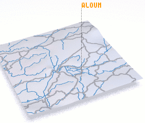 3d view of Aloum