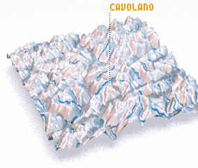 3d view of Cavolano