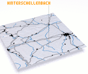 3d view of Hinterschellenbach