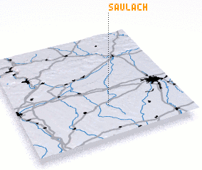 3d view of Saulach
