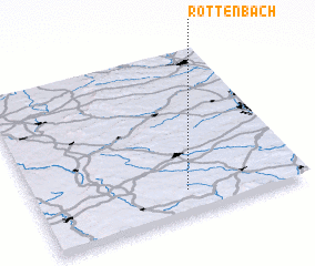 3d view of Röttenbach