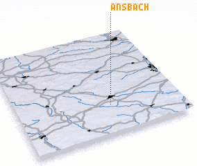 3d view of Ansbach