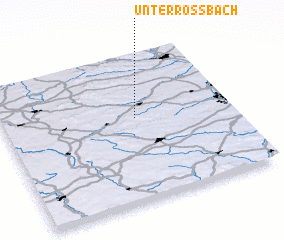 3d view of Unterroßbach