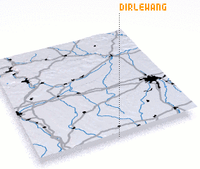 3d view of Dirlewang