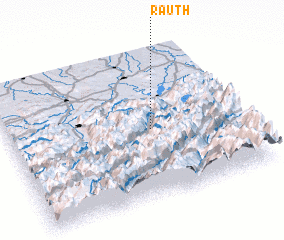 3d view of Rauth