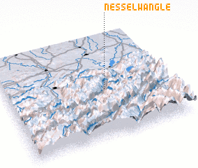 3d view of Nesselwängle