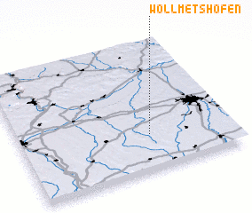 3d view of Wollmetshofen