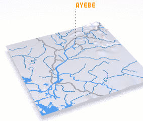 3d view of Ayébé