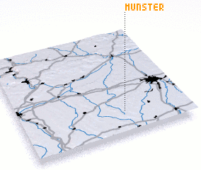 3d view of Münster