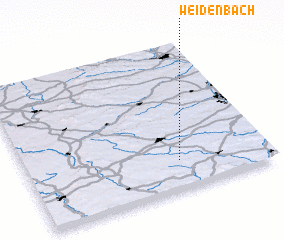 3d view of Weidenbach