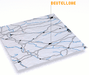 3d view of Beutellohe
