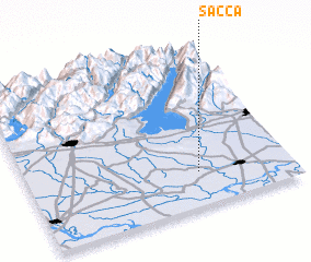 3d view of Sacca
