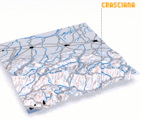 3d view of Crasciana