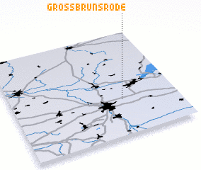 3d view of Groß Brunsrode