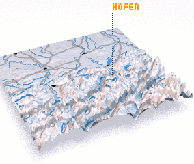 3d view of Höfen