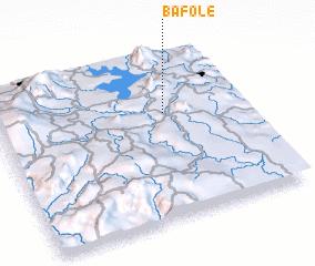 3d view of Bafolé