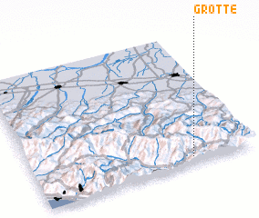 3d view of Grotte