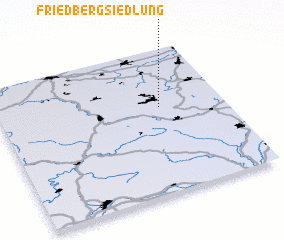 3d view of Friedbergsiedlung