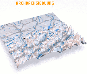 3d view of Archbach Siedlung