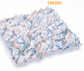 3d view of Corzes