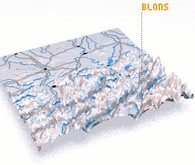 3d view of Blons