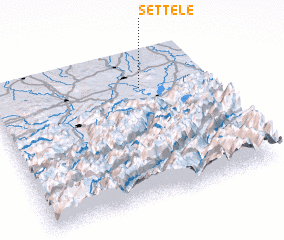 3d view of Settele