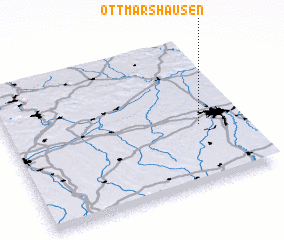 3d view of Ottmarshausen