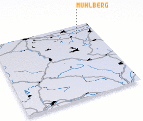 3d view of Mühlberg