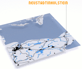 3d view of Neustadt in Holstein