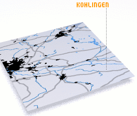 3d view of Köhlingen