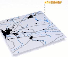 3d view of Hakendorf