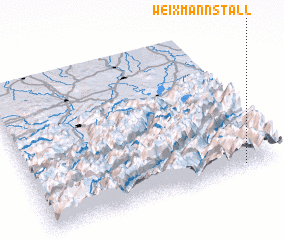 3d view of Weixmannstall