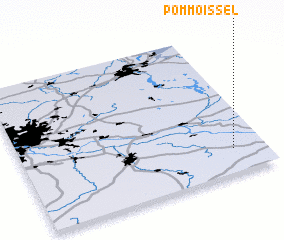 3d view of Pommoissel