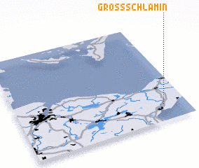 3d view of Groß-Schlamin