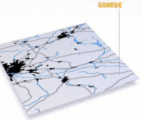 3d view of Göhrde