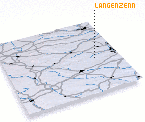 3d view of Langenzenn