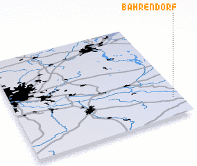 3d view of Bahrendorf