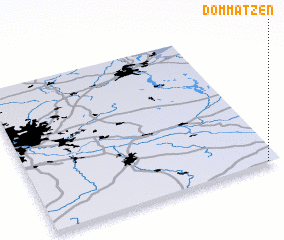 3d view of Dommatzen
