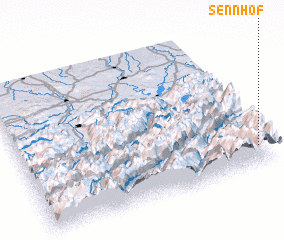 3d view of Sennhof
