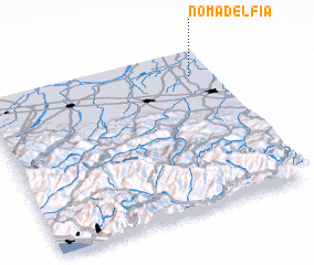 3d view of Nomadelfia