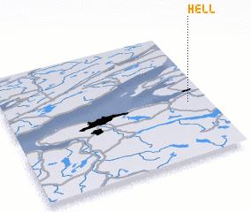 hell arizona map
