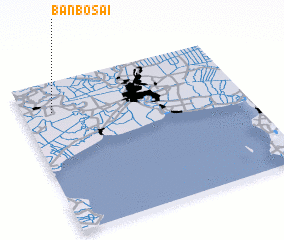 3d view of Ban Bo Sai