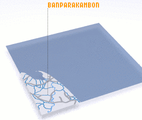 3d view of Ban Pa Rakam Bon
