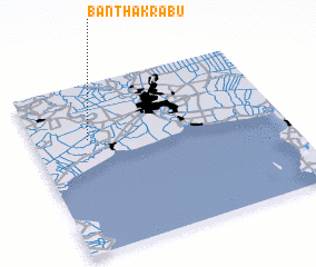 3d view of Ban Tha Krabu