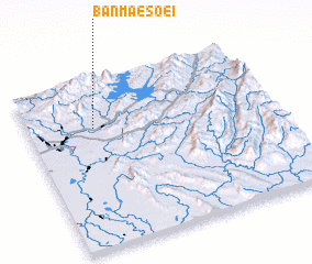 3d view of Ban Mae Soei